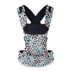 Beco Gemini Baby Carrier Geometric Teal Blue