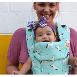 Beco Gemini Baby Carrier Unicorn Magic Mint