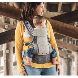 Beco Gemini Baby Carrier Cool Grau