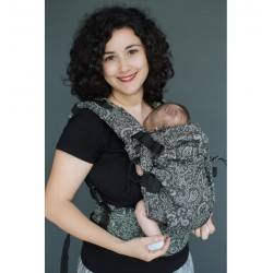NEKO Switch Efes Paisley Hazel Dark Babycarrier