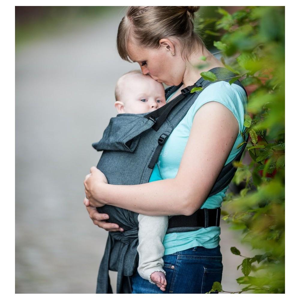 STORCHENWIEGE BabyCarrier Graphit