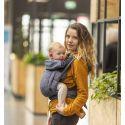 Bondolino Plus One Size Denim Schwarz Babytrage