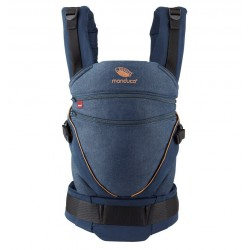 Babytrage Manduca XT Denim Blue Toffee