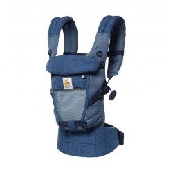 Babytrage Ergobaby Adapt Cool Air Mesh Blue Bloom