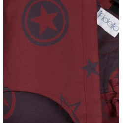 Fidella Fusion 2.0 Outer Space Rubin Rot - Baby size