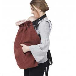 Isara Clever Cover Terra Cotta - Merino Wolle