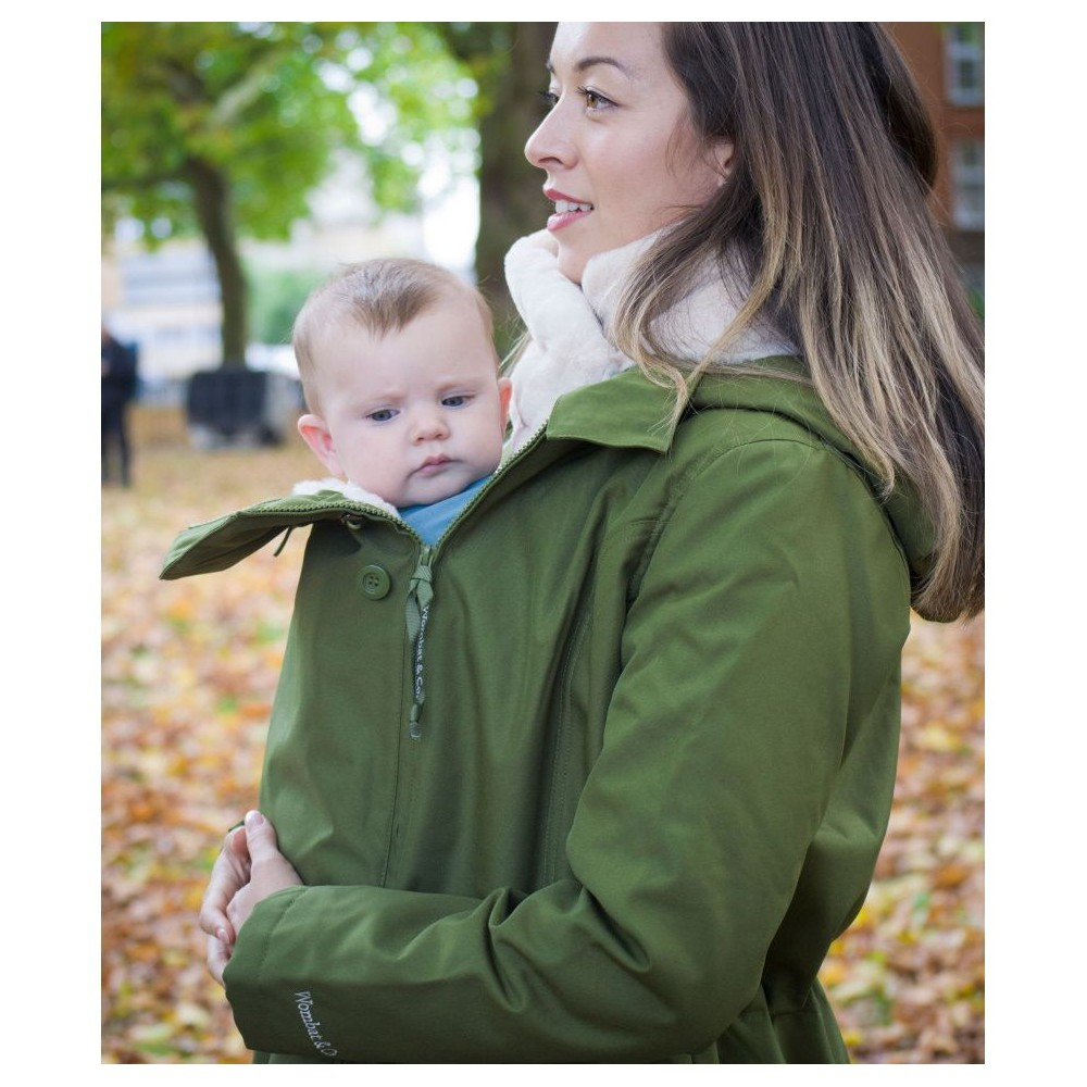 Wombat & Co Wallaby 2.0 Forest Green & Beige