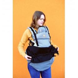 MaM Ultra Plus 2 in 1 Flex Tragecover - Heather Grau-Schwarz