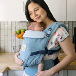 Ergobaby Adapt Heritage Blue - Babytrage