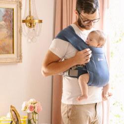 Ergobaby Embrace Soft Navy - Babytrage