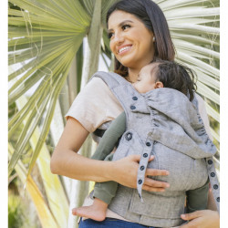 Tula Explore Linen Ash - Babytrage