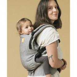 Tula Linen Free to Grow Ash - Babytrage