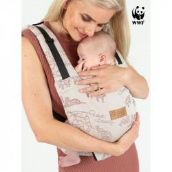 Isara Quick Full Buckle Wildlife Sandy Babytrage