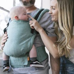 Tula Linen Free to Grow Reef - Babytrage