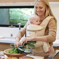 Ergobaby Adapt Cool Air Mesh Natural Weave Babytrage