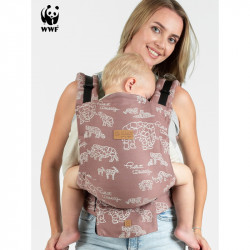 Isara Quick Full Buckle Wildlife Terra Babytrage
