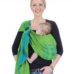 HOPPEDIZ Ring Sling New York Türkis