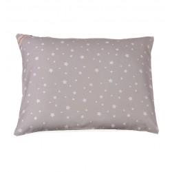 BabyDorm Kissenbezug Grau Sterne
