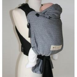 STORCHENWIEGE BabyCarrier Schwarz Weiß